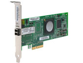 Qlogic 4-Gbps dual port Fibre Channel to x4 PCI Express host bus adapter Fibre Channel HBA