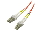 Multimode Duplex, 62.5/125 Fiber cable, LC/LC, 3M